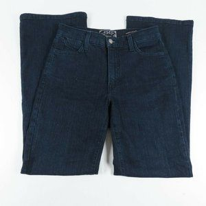 NYDJ Womens Jeans Size 2 Petite Straight Mid Rise